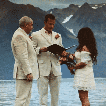 Angels Rest Seward Alaska Waterfront Wedding